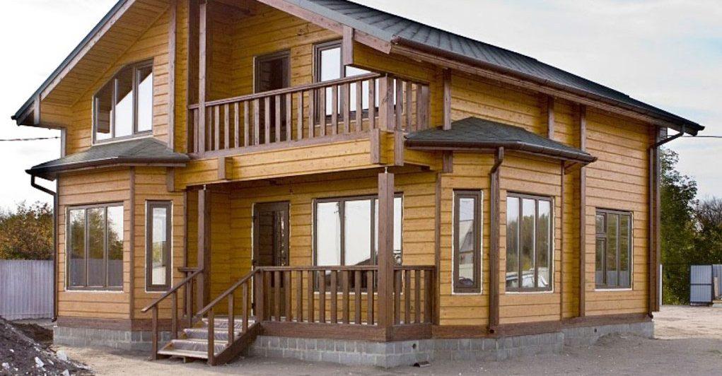пример в деревянном доме