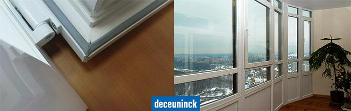 Deceuninck примеры работ