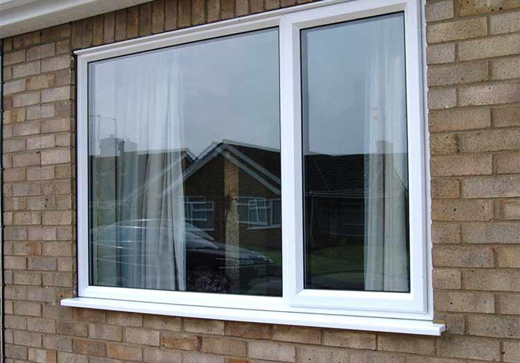 Установленные окна KBE Expert