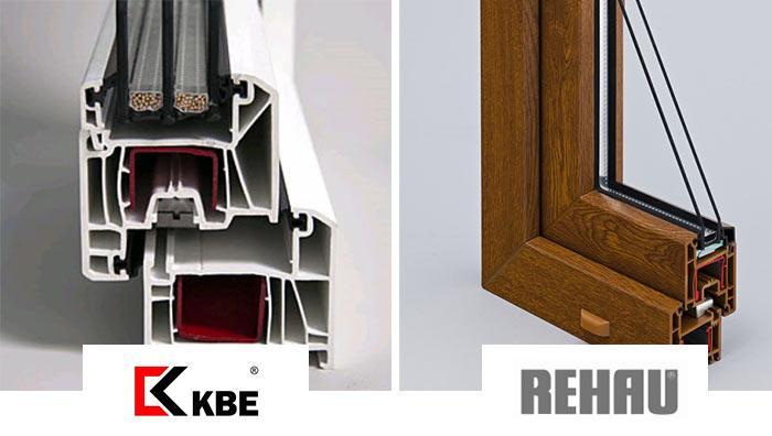Профили KBE и Rehau