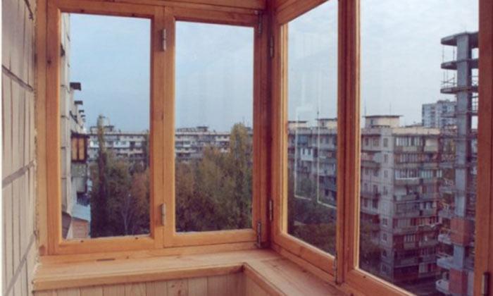 Остекление деревянного балкона алюминиевое остекление балконов в москве